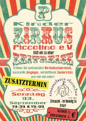 Der Kinderzirkus Piccolino im September 2017
